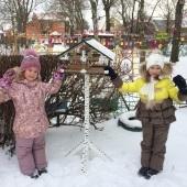 Проект «Покормите птиц зимой!» в группе №1