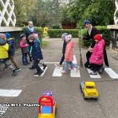 Как Баба-Яга о правилах дорожного движения узнала