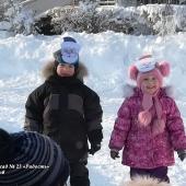 Неделя здоровья 2018 в группе №2. Два мороза