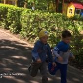 Летняя Спартакиада – 2018. С 7 по 11 мая дошколята соревновались в беге на скорость