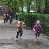 Летняя Спартакиада – 2018. С 7 по 11 мая дошколята соревновались в беге на скорость. Группа №2