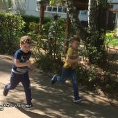 Летняя Спартакиада – 2018. С 7 по 11 мая дошколята соревновались в беге на скорость. Группа №3