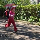 Летняя Спартакиада – 2018. С 7 по 11 мая дошколята соревновались в беге на скорость. Группа №11