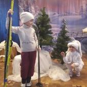 """Сценка """"Как зайца лыжи спасли"""""""